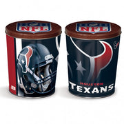 Sport Tin - Houston Texans Tin - 3 Gallon