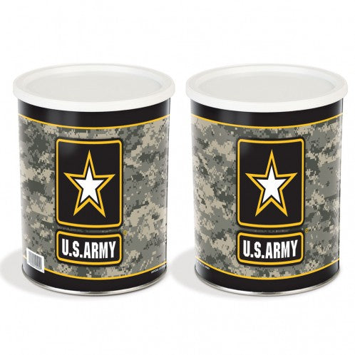 Military Tin - Army Tin - 1 Gallon