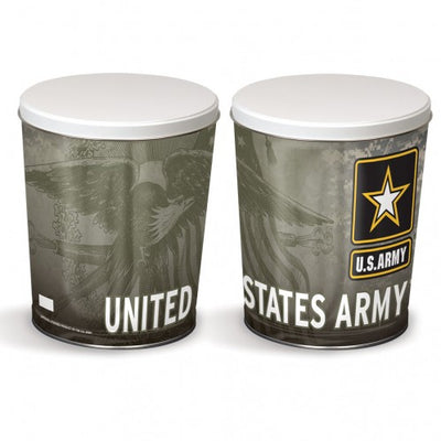 Military Tin - Army Tin - 3 Gallon