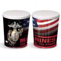 Military Tin - Marines Tin - 3 Gallon