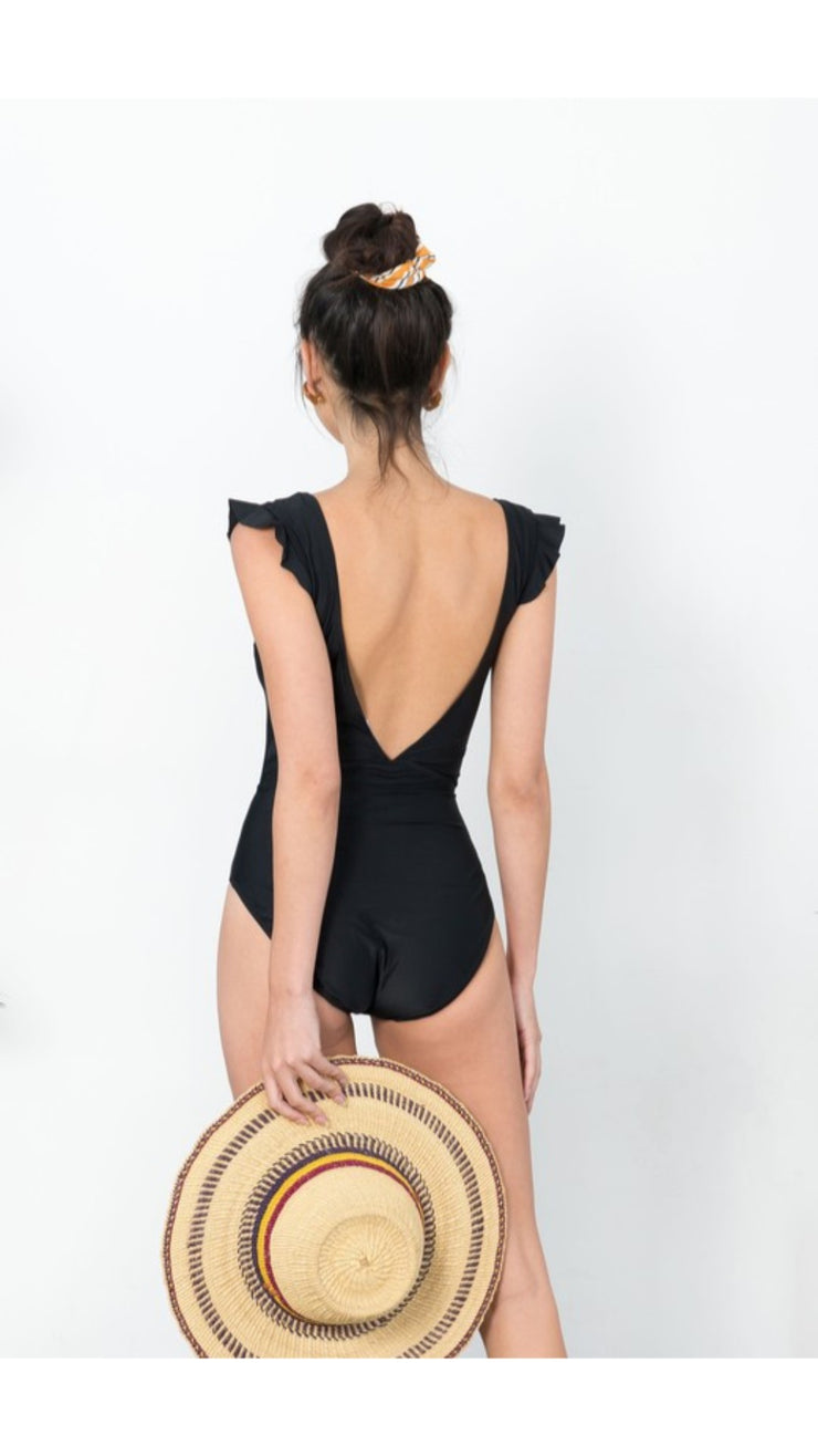 Sahara One Piece in Black