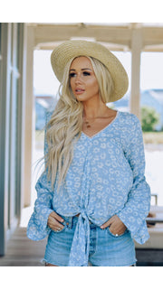 Beth Bell Sleeve Top