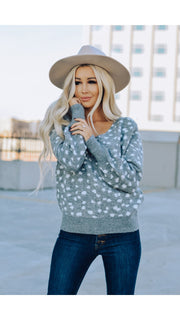 Chalet Sweater in Grey