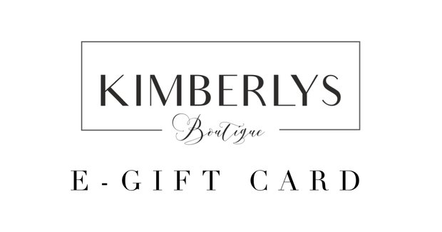 Kimberlys eGift Card