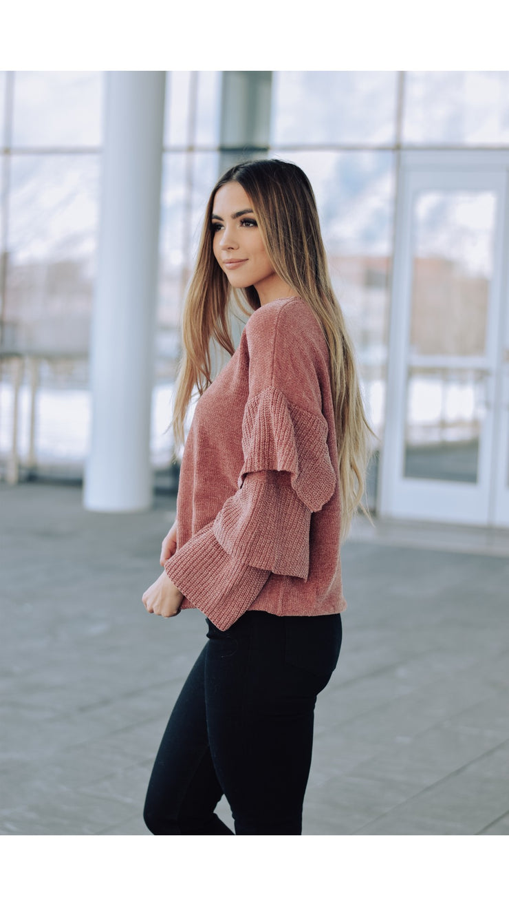 Kendall Chenille Sweater