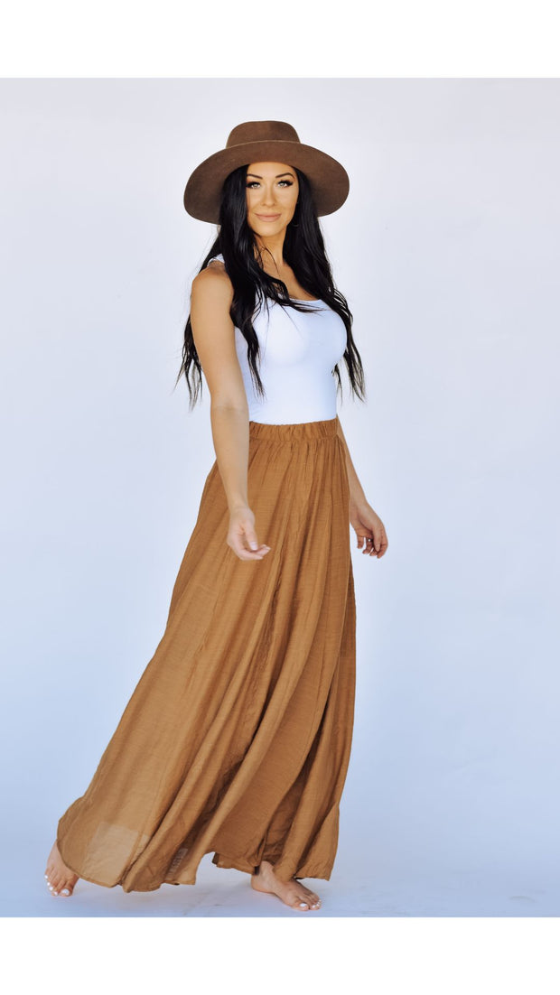 Prim Maxi Skirt in Gucci
