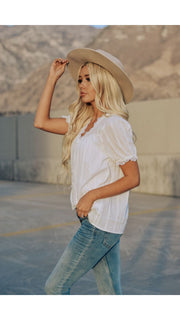 Staci Lace Top