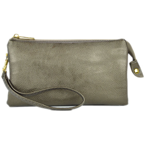 Crossbody Bag in Pewter