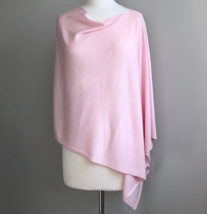 Resort Poncho Pale Pink