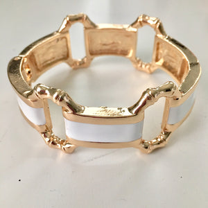 Melissa Bangle in White