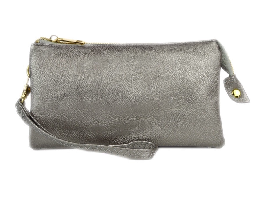 Crossbody Bag in Silver