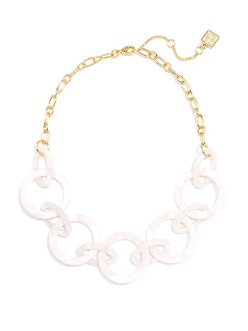 Suzy Necklace in White