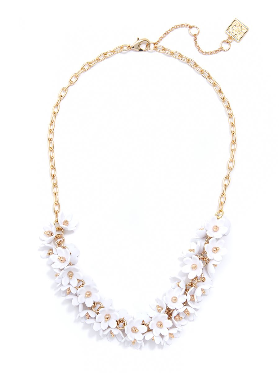 Esme Necklace in White