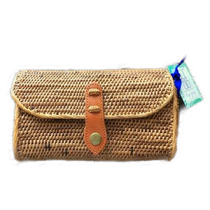 Natural Straw Cross Body