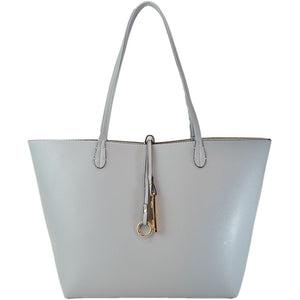 Light Grey/Beige Reversible Tote