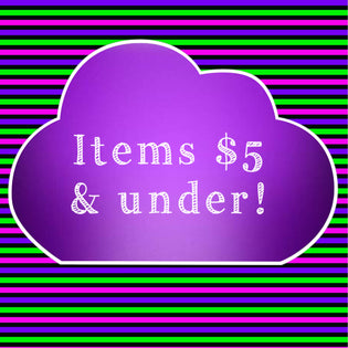 Items $5 & under