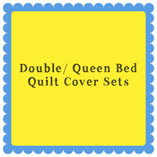 Double/ Queen Quilt Cover Sets