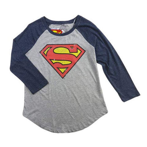 Ladies Super Girl 3/4 Tee