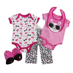 Baby girl outfit - 5 piece set - winter