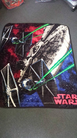 PRE ORDER Star Wars Throw Size Faux Mink Blanket