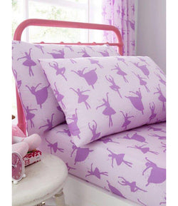 BALLERINA Single fitted sheet & Pillow Case