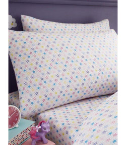 PRE ORDER STARS Single fitted sheet & Pillowcase