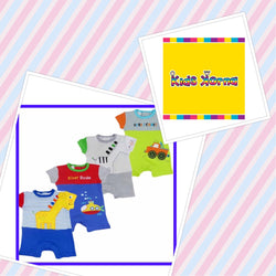 Buster Brown baby boy summer onesie