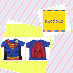 Summer Tee Tshirt Superman