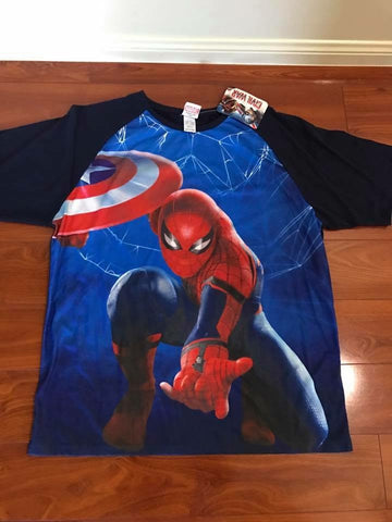 Men's Spiderman Tee Tshirt