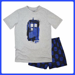Men's Dr Who Pj Pajamas
