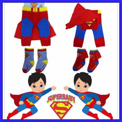 Super baby leggings with socks