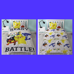 Pokemon Single Quilt Cover Set