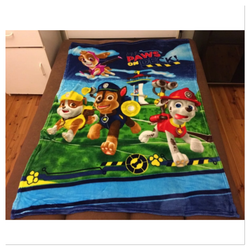 Paw Patrol Throw Size Faux Mink Blanket