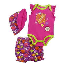Baby girl outfit - 3 piece set