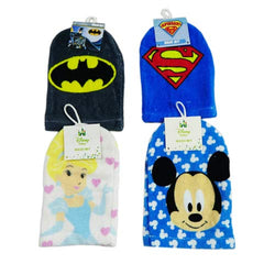 Bath mit - superman batman princess mickey