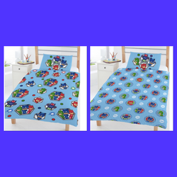 Pj Masks - Toddler Bed/Cot Quilt Cover Set