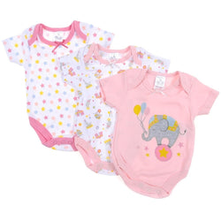 Baby body suits rompers 3 pack GIRL