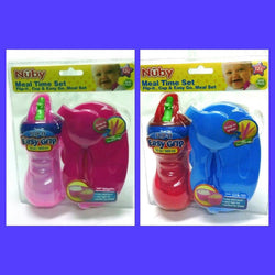 Nuby baby drink bottle set