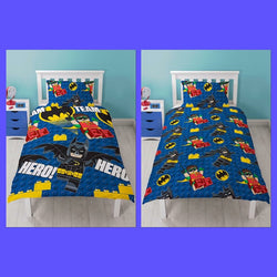 Batman Lego Single Quilt Cover Set