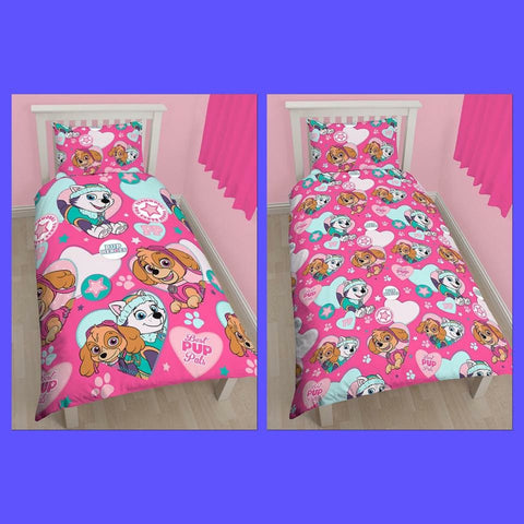 PRE ORDER Paw Patrol Skye Single Quilt Cover Set