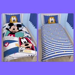 Mickey Single Quilt Cover Set