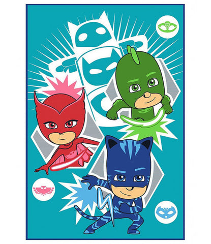 Pj Masks Throw Size Fleece Blanket