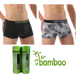 Men's Bamboo boxer brief undie