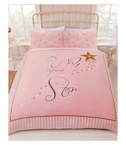 Wish upon a star Single Quilt Cover Set