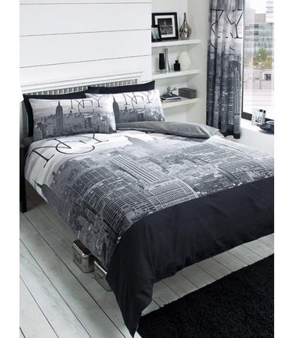 NYC New York Single Quilt Cover Set