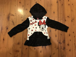 Jacket - Minnie velour - Size 10/12 - minor faults