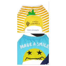 Baby short - Pineapple or Smile