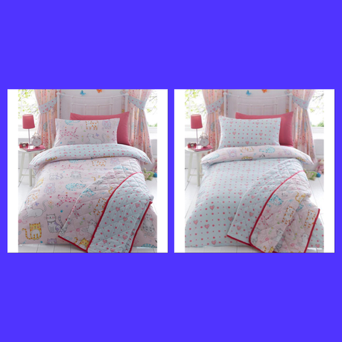 Cats Single Quilt Cover Set