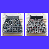 Assassin's creed legacy Double to queen Quilt Cover Set