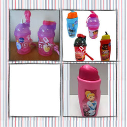 Drink bottle planes dora cars princess